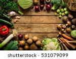 autumn  fall  vegetables on...