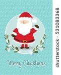 merry christmas   christmas... | Shutterstock .eps vector #531083368