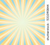 abstract yellow and blue rays... | Shutterstock .eps vector #531090844