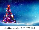winter background.merry... | Shutterstock . vector #531091144