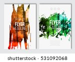 flyer layout template. vector... | Shutterstock .eps vector #531092068