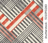 Abstract  Striped  Geometric...