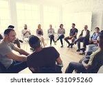 networking seminar meet ups... | Shutterstock . vector #531095260