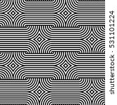 geometric pattern. vector... | Shutterstock .eps vector #531101224