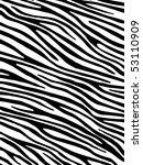 zebra background | Shutterstock .eps vector #53110909