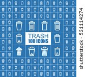 trash bin  clean and container... | Shutterstock .eps vector #531114274