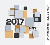 creative geometric design for... | Shutterstock .eps vector #531117514