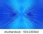 abstract blue fractal... | Shutterstock . vector #531130363