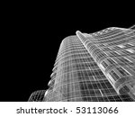 abstract architecture | Shutterstock . vector #53113066