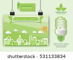 ecology connection  concept... | Shutterstock .eps vector #531133834