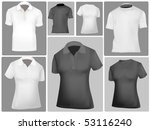 shirts. photo realistic vector... | Shutterstock .eps vector #53116240