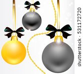 christmas  ball  holiday | Shutterstock . vector #531172720