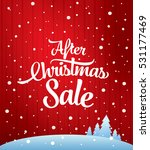 after christmas sale banner | Shutterstock .eps vector #531177469