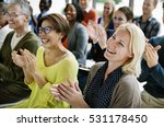 audience applaud clapping... | Shutterstock . vector #531178450