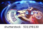watch face with advantage... | Shutterstock . vector #531198130