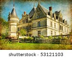 Old French Castle  Artistic...