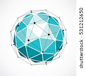perspective technology shape... | Shutterstock .eps vector #531212650