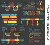 infographics elements set....   Shutterstock . vector #531219430