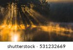 morning in pang ung lake north... | Shutterstock . vector #531232669