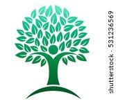 tree logo | Shutterstock .eps vector #531236569