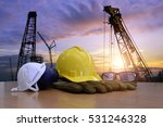 standard construction safety... | Shutterstock . vector #531246328