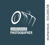 logo camera the photographer | Shutterstock .eps vector #531260158