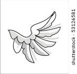 left wing | Shutterstock .eps vector #53126581