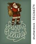 seasons greetings sophisticated ... | Shutterstock .eps vector #531266374