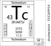 the periodic table element... | Shutterstock .eps vector #531269914