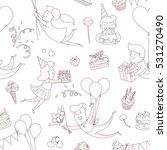 illustration happy birthday...   Shutterstock . vector #531270490