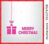 xmas gift vector icon | Shutterstock .eps vector #531274708