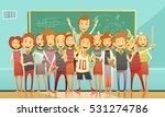 classic school education... | Shutterstock .eps vector #531274786