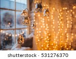 christmas decorations hang on... | Shutterstock . vector #531276370