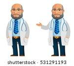 funny cartoon illustration of a ... | Shutterstock .eps vector #531291193