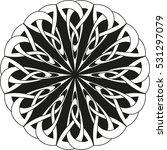 round celtic pattern. element... | Shutterstock .eps vector #531297079