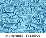 vector pattern including ethnic ... | Shutterstock .eps vector #53130901