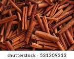 cinnamon sticks | Shutterstock . vector #531309313