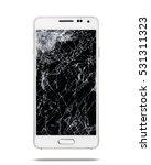 modern touch screen smartphone... | Shutterstock . vector #531311323