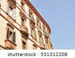 architecture of cagliari ... | Shutterstock . vector #531312208