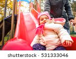 children slide park outdoor... | Shutterstock . vector #531333046