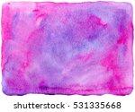 watercolor hand drawn... | Shutterstock . vector #531335668