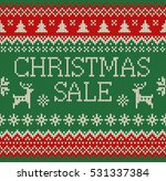 merry christmas and new year... | Shutterstock .eps vector #531337384