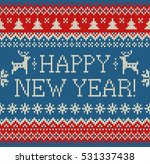 merry christmas and new year... | Shutterstock .eps vector #531337438