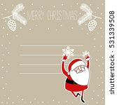 santa background | Shutterstock .eps vector #531339508