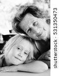 portrait of beautiful 70 years... | Shutterstock . vector #531350473
