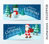 vector set of banners for ... | Shutterstock .eps vector #531359938