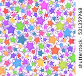 seamless pattern for childish... | Shutterstock . vector #531359968