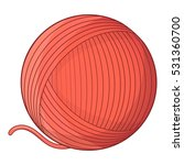 Yarn Ball Toy For Cat Icon....