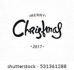 hipster christmas retro label.... | Shutterstock . vector #531361288
