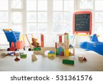 interior of colorful playing... | Shutterstock . vector #531361576